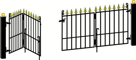 Services Wrought Iron Gates Amp Railings In Plymouth